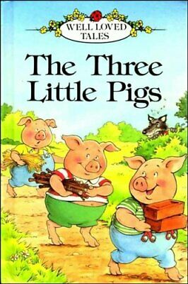 The Three Little Pigs (Ladybird Well-loved Tales) Paperback Book The Cheap Fast