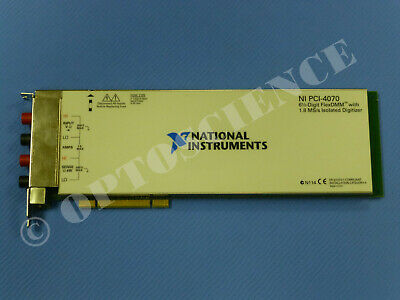 National Instruments PCI-4070 Multimeter Card 6-1/2 Digits, NI DAQ DMM