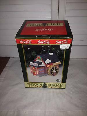 1995 Coca Cola Town Square Collection - The Grist Mill Restaurant <<<New In Box