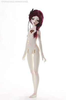 b45-016 girl BODY ONLY with heart DollZone 1/4 doll msd size BJD doll