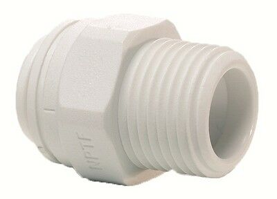 "Screw Push Fit Filter Housing Connector 1/4"" X 3/8"" For Use With Water Pipe New"
