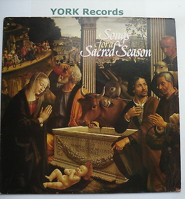 SONGS FOR A SACRED SEASON - Various - Excellent Condition LP Record BBC REB 689