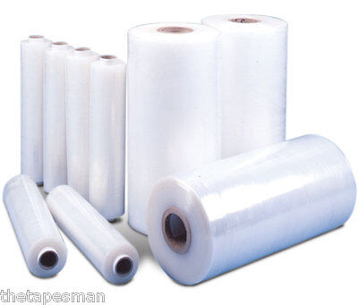 8x Pallet Wrap Stretch Film Shrink Clear 3Kg 25um METRO Cities Only 250m Strong