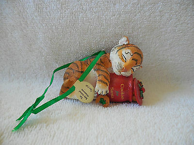 The Danbury Mint Baby TIGER CUB Baby Animals Collection Christmas Ornament - New