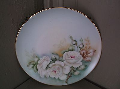 9 in LHS Bavaria Germany Antique Plate Hutschenreuther