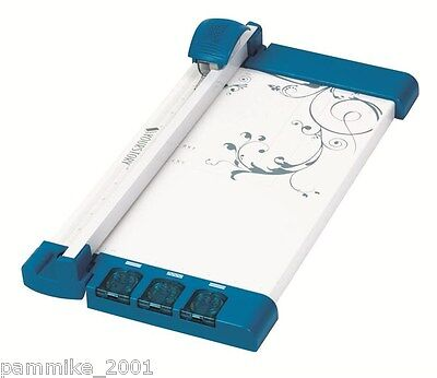 CRICUT YOURSTORY ROTARY PAPER CUTTER PHOTO SCRAPBOOK CRAFT BORDER TRIMMER NEW