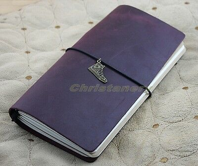 Handmade Vintage Retro Genuine Leather Custom Travel Journal Diary Note Book