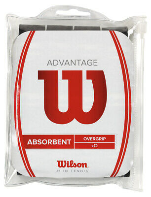 Wilson Advantage Tennis Racquet Racket Overgrip 12 Pack