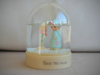 Precious Moments Snow Globe - Bless This House