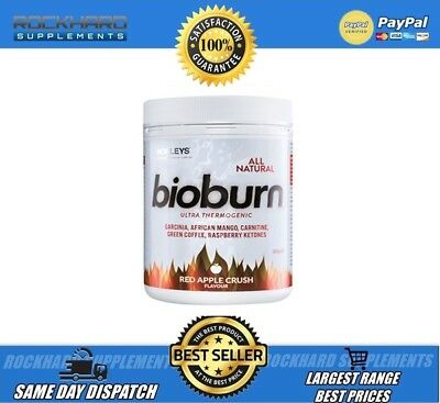 Horleys All Natural Bioburn Ultra Thermogenic 30 Serves Energy Focus Black Berry