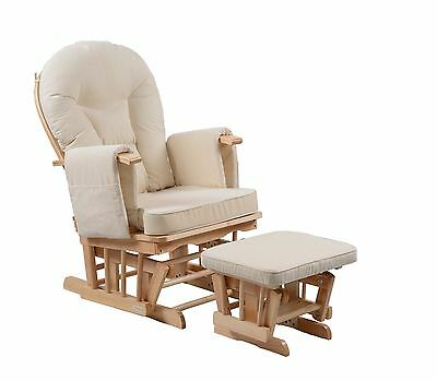 Serenity Natural Glider Nursing maternity rocking chair SRP£279