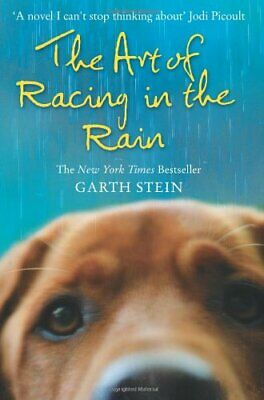 Art Of Racing In The Rain by Stein, Garth Paperback Book The Cheap Fast Free