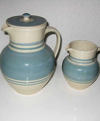TWO SEVIERS JUGS