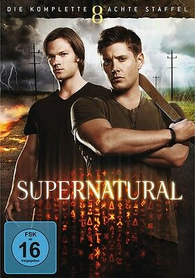 Supernatural - Season/Staffel 8 Komplett * NEU OVP * 6 DVDs
