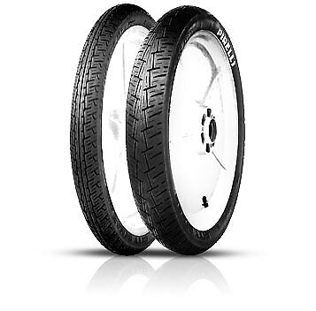 Honda SS 50 Benly Continental ContiCity Front Rear Tyre Pair 2.50|2.50