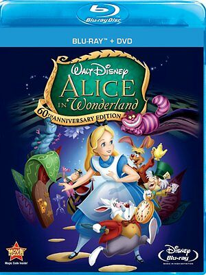 Alice In Wonderland  (Two-Disc 60th Anniversary Blu-ray)   Format: Blu-ray