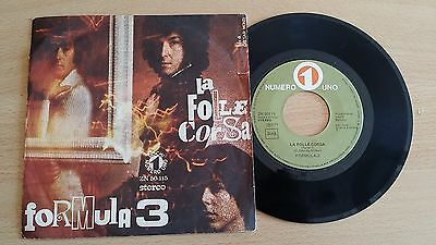 "Formula 3 - La Folle Corsa - 45 Giri 7"" - Italy Press"