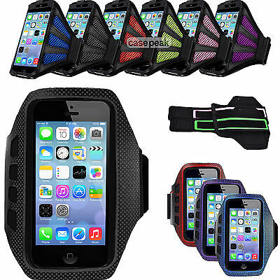 Premium Armband Running Sports Case Jogging Cover For Apple iPhone 5 6 6s Gym 5g