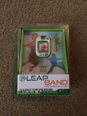 Leap Frog LEAP BAND Green Animated Pets Power Tracker Active Play 2014