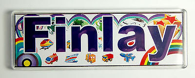 Personalised - from F to I -Door / Room Name Plaque / Tile / Magnet / Frame