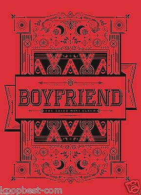 BOYFRIEND - Witch (3rd Mini Album) (CD+Post Card+Photo Card+Poster+Gift Photo)