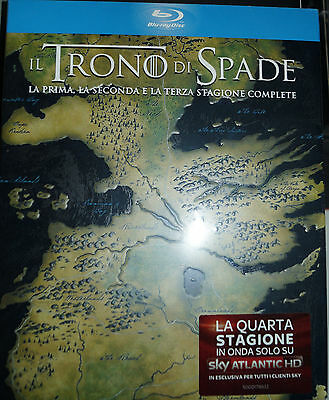 Game Of Thrones Staffel 1 2 3, 15 Blu Ray Box, NEU & OVP