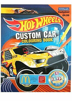 Custom Car Colouring Book EXTRA (Hot Wheels) Book The Cheap Fast Free Post
