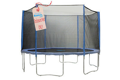 Trampoline Net FITS for: 6ft for 6 Poles Trampoline by Plum Connects on Outside