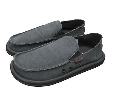 Men's Canvas Slip On Shoes New Size 11