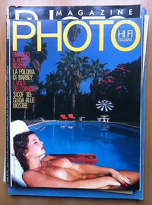 Photo HI FI Italiana n° 93 Marzo 1983 Cover: Jeff Dunas - E14233