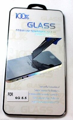 2 X iPhone 6 Plus Premium Tempered Glass Screen Protector Protection 9H Hardness