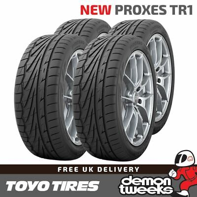 4 x 195/50/15 R15 82V XL Toyo Proxes TR-1 (TR1) Road/Track Day Tyres - 1955015
