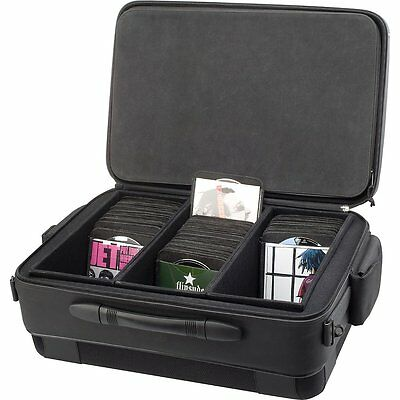 Slappa Hardbody Pro 420 Porta Disc CD CRATE Carrying Case (BALLISTIX BLACK) d2i
