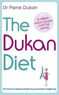 The Dukan Diet, Pierre Dukan Paperback Book The Cheap Fast Free Post
