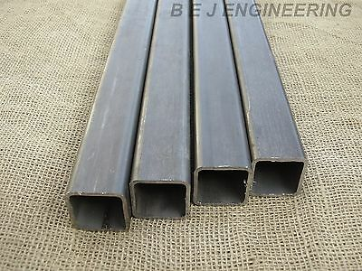 Mild Steel Box 40mm x 40mm x 3mm - 2000mm lg - 4 Pack -  Square Tube