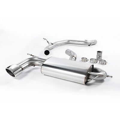 Milltek Non Resonated (Louder) Cat Back Stainless Exhaust System - SSXSE119