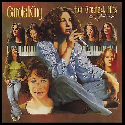 CAROLE KING - HER GREATEST HITS : SONGS OF LONG AGO CD w/BONUS Trax ~ 70's *NEW*