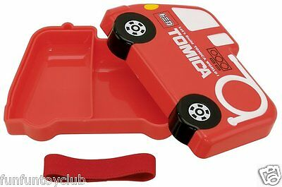 TOMY TOMICA Housewares lunch box Fire Truck 310ml