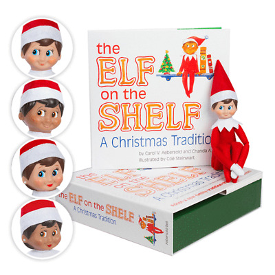 OFFICIAL NEW 2017 The Elf on the Shelf® Light Skinned Boy