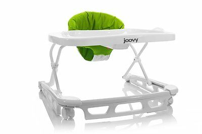 Joovy Spoon Walker with Three Height Positions & Non Slip Stair Pads (Greenie)