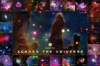 ACROSS THE UNIVERSE - SMITHSONIAN POSTER - 24x36 GALAXY SPACE STARS 241210