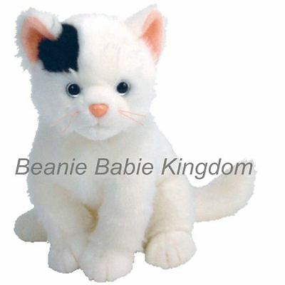 "Ty  Beanie Buddy * DELILAH * The Black & White Cat Buddie 10"" 90026 RARE"