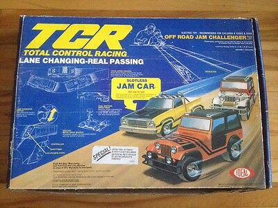Total Control Racing Tcr 1970's/1980's Ideal Toy