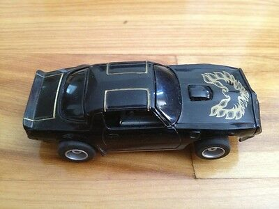 Black Firebird Slot Car