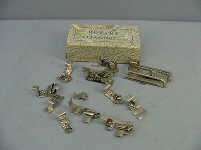 Vintage Greist Rotary Sewing Machine Attachments  - Awesome