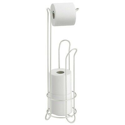 interDesign 68710 Classico Chrome Toilet Tissue Stand Plus