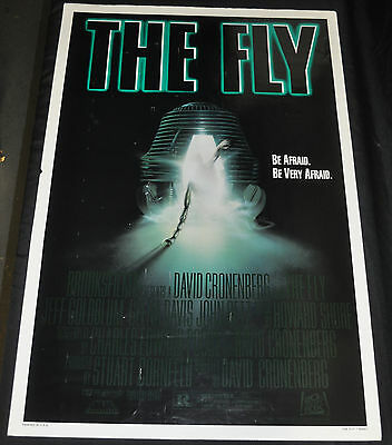 The Fly Cronenberg Original One 1sh Sheet Movie Poster - (1986) ITB WH
