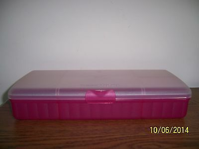 Tupperware Lunch'n Things Container - Fuchsia Kiss Pink NEW