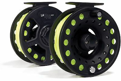 Leeda 'Ready To Fish' Fly reel - Size 7/8 - With WF7F Fly Line (C0121)