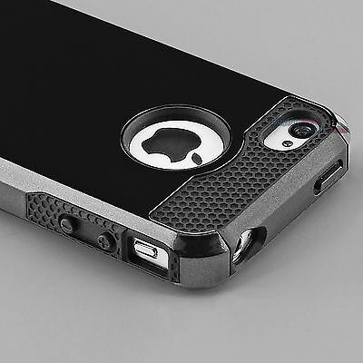 Hybrid Shockproof Hard Rugged Heavy Duty Cover Case For Apple iPhone 5 5s 5se